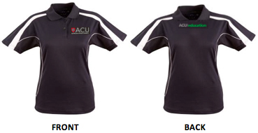 ACU Education polo tops